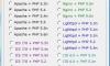 phpStudy:非常棒的PHP环境搭建包(支持Apache、IIS、Nginx和LightTPD)